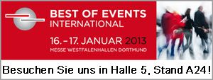 SHOWTIME auf der Best of Events in Dortmund